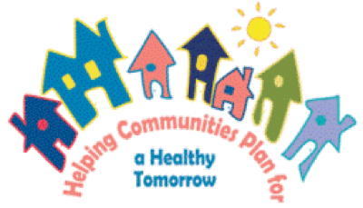 Helping communities plan for a healthy tomorrow logo