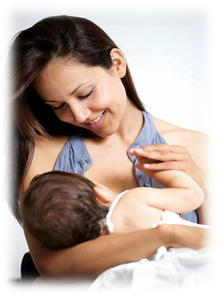 image of breastfeeding mother